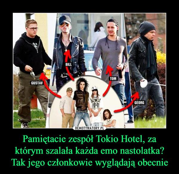 Pamiętacie zespół Tokio Hotel, za którym szalała każda emo nastolatka? Tak jego członkowie wyglądają obecnie –