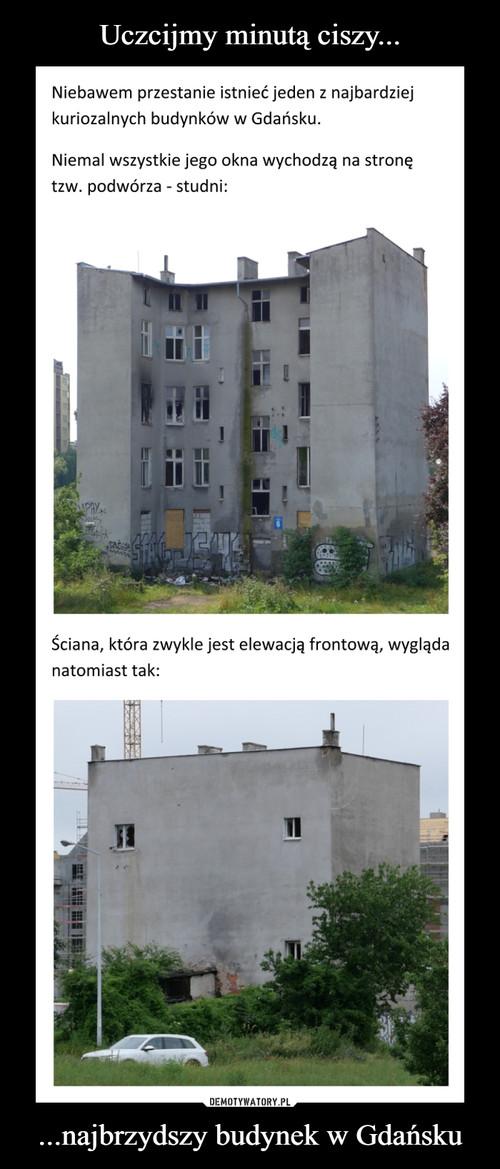 Uczcijmy minutą ciszy... ...najbrzydszy budynek w Gdańsku