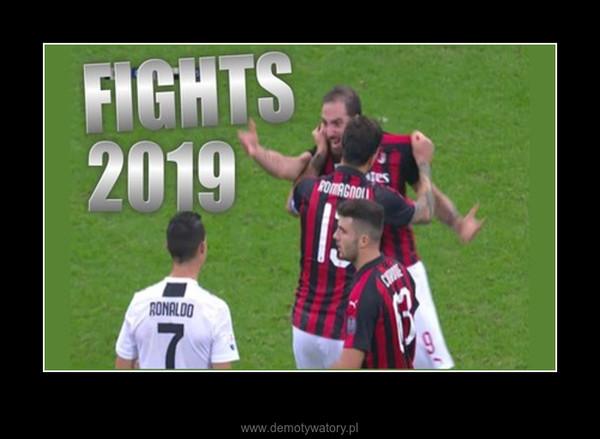 Walka i awantury w Piłce Nożnej 2019 –