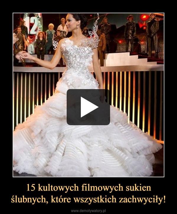 15 kultowych filmowych sukien ślubnych, które wszystkich zachwyciły! –