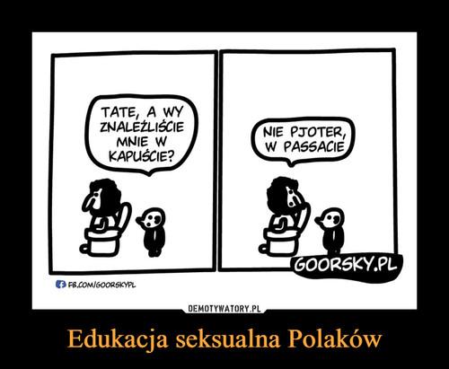 Edukacja seksualna Polaków