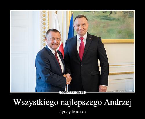 Wszystkiego najlepszego Andrzej