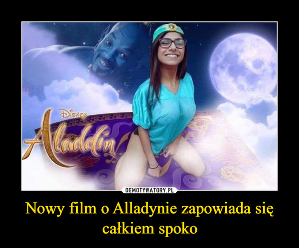Nowy film o Alladynie zapowiada się całkiem spoko –