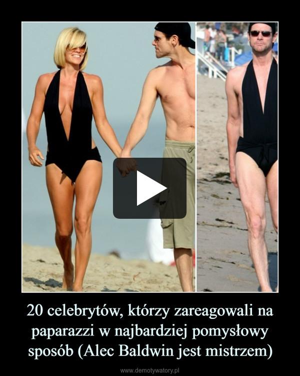 20 celebrytów, którzy zareagowali na paparazzi w najbardziej pomysłowy sposób (Alec Baldwin jest mistrzem) –