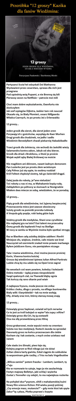 """Przeróbka """"12 groszy"""" Kazika dla fanów Wiedźmina:"""