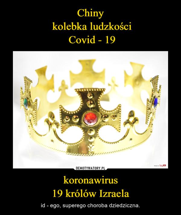 koronawirus19 królów Izraela – id - ego, superego choroba dziedziczna.