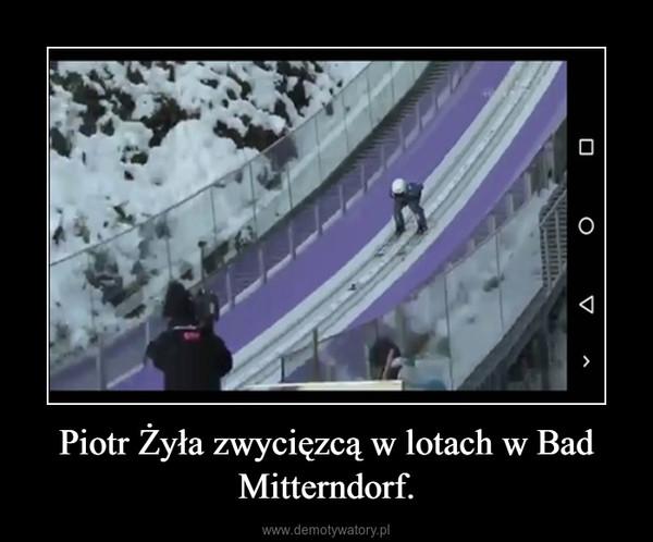 Piotr Żyła zwycięzcą w lotach w Bad Mitterndorf. –
