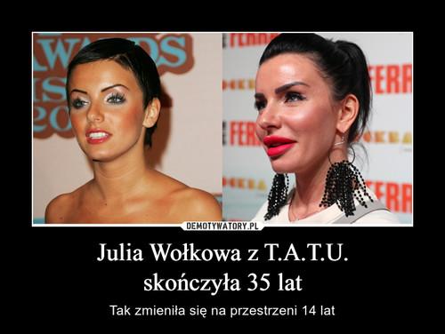 Julia Wołkowa z T.A.T.U. skończyła 35 lat