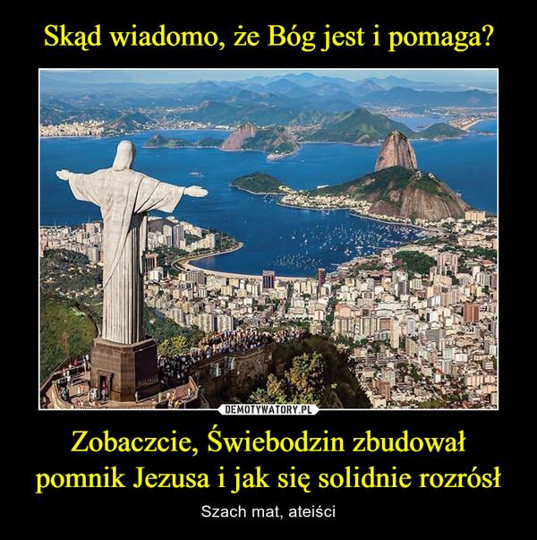 Zobaczcie, Świebodzin zbudował pomnik Jezusa i jak się solidnie rozrósł – Szach mat, ateiści