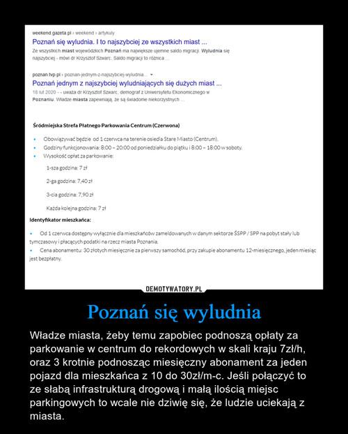 Poznań się wyludnia