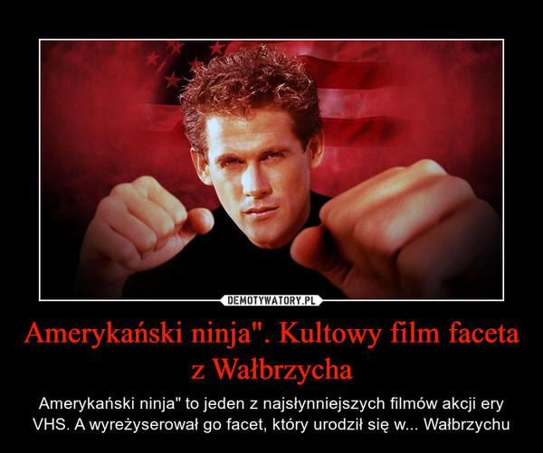 """Amerykański ninja"""". Kultowy film faceta z Wałbrzycha – Amerykański ninja"""" to jeden z najsłynniejszych filmów akcji ery VHS. A wyreżyserował go facet, który urodził się w... Wałbrzychu"""