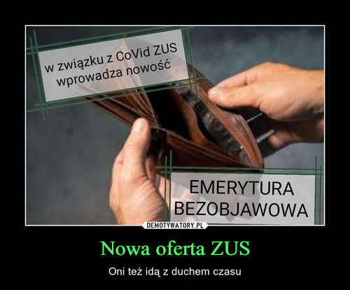 Nowa oferta ZUS
