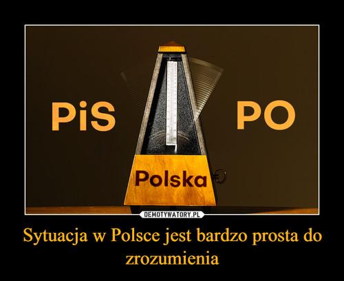 Sytuacja w Polsce jest bardzo prosta do zrozumienia