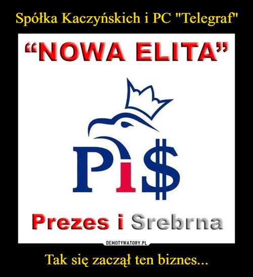 """Spółka Kaczyńskich i PC """"Telegraf"""" Tak się zaczął ten biznes..."""