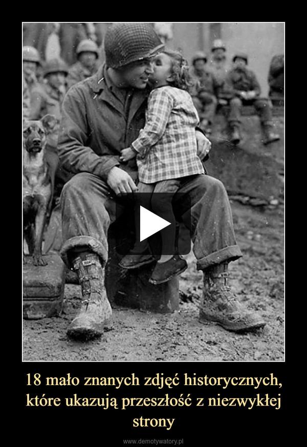 18 mało znanych zdjęć historycznych, które ukazują przeszłość z niezwykłej strony –