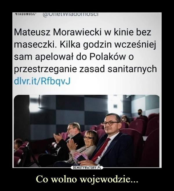 Co wolno wojewodzie... –  Mateusz Morawiecki w kinie bezmaseczki. Kilka godzin wcześniejsam apelował do Polaków oprzestrzeganie zasad sanitarnychdlvr.it/RfbqvJ