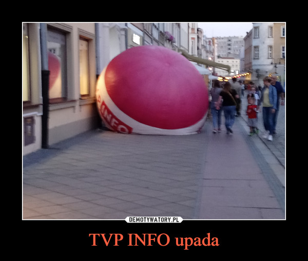 TVP INFO upada –