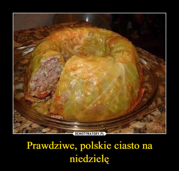 Prawdziwe, polskie ciasto na niedzielę –