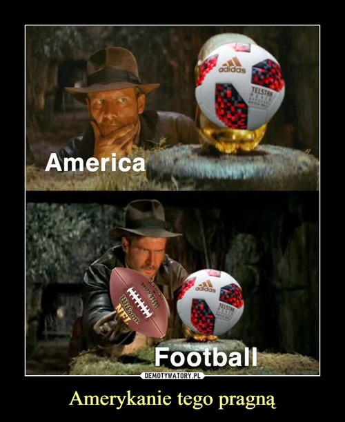 Amerykanie tego pragną