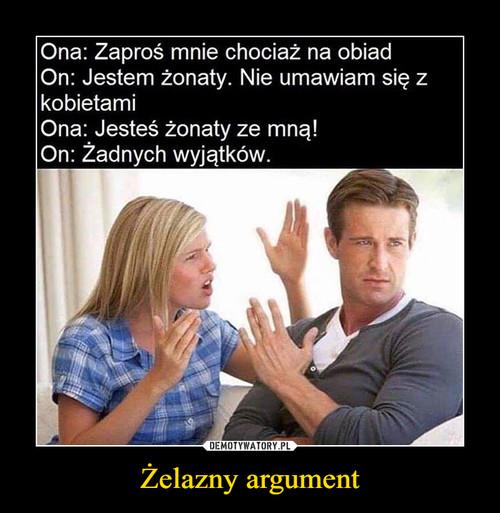 Żelazny argument