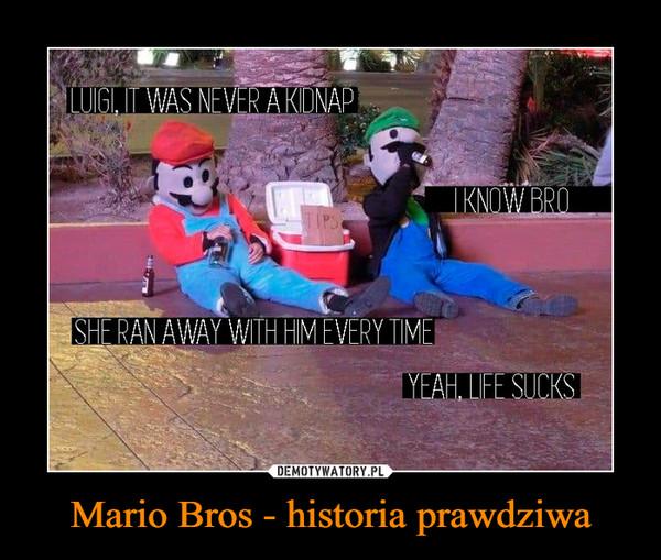 Mario Bros - historia prawdziwa –