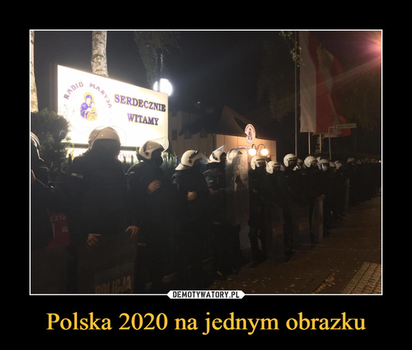 Polska 2020 na jednym obrazku –