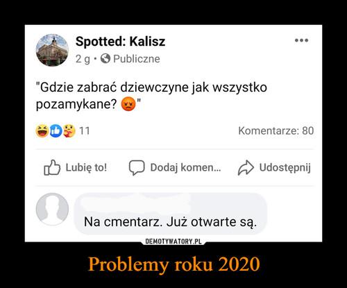 Problemy roku 2020