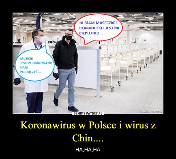 Koronawirus w Polsce i wirus z Chin.... – HA,HA,HA