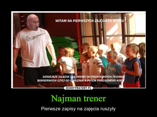 Najman trener