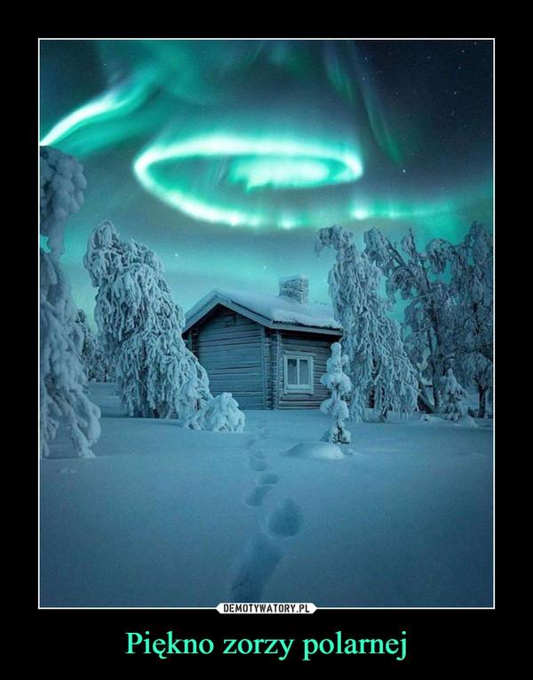 Piękno zorzy polarnej –