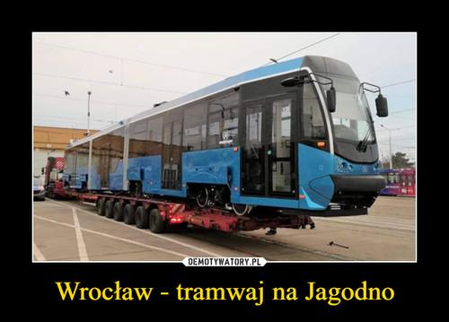 Wrocław - tramwaj na Jagodno
