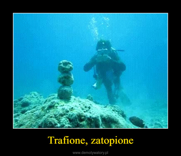 Trafione, zatopione –