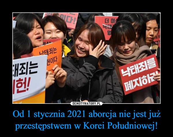 Od 1 stycznia 2021 aborcja nie jest już przestępstwem w Korei Południowej! –