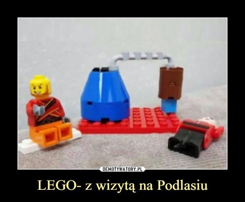 LEGO- z wizytą na Podlasiu