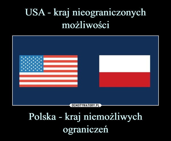 Polska - kraj niemożliwych ograniczeń –