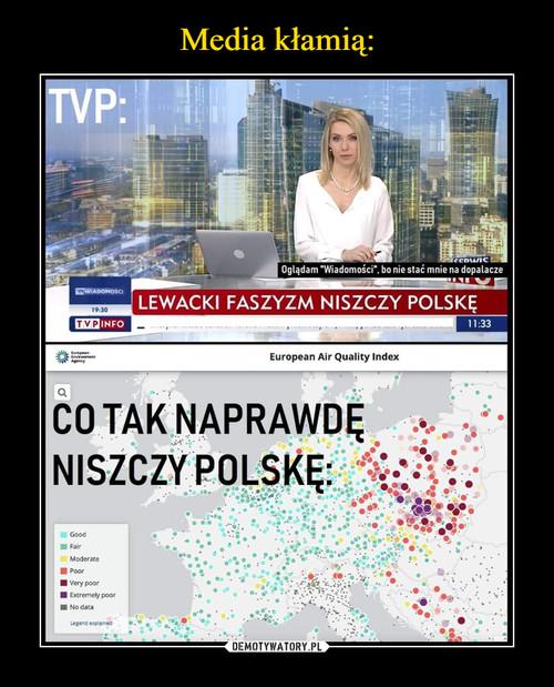 Media kłamią: