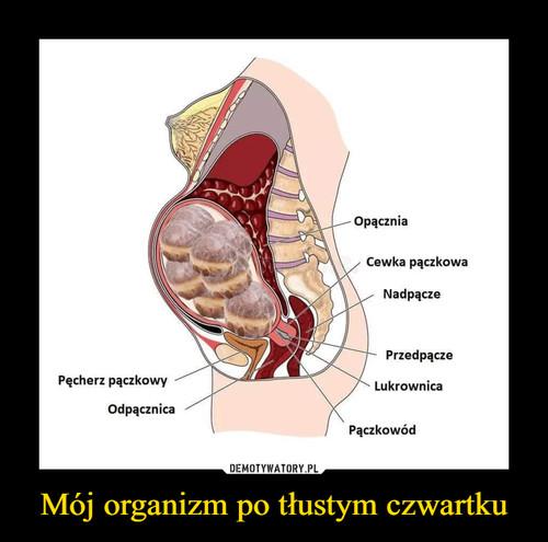 Mój organizm po tłustym czwartku