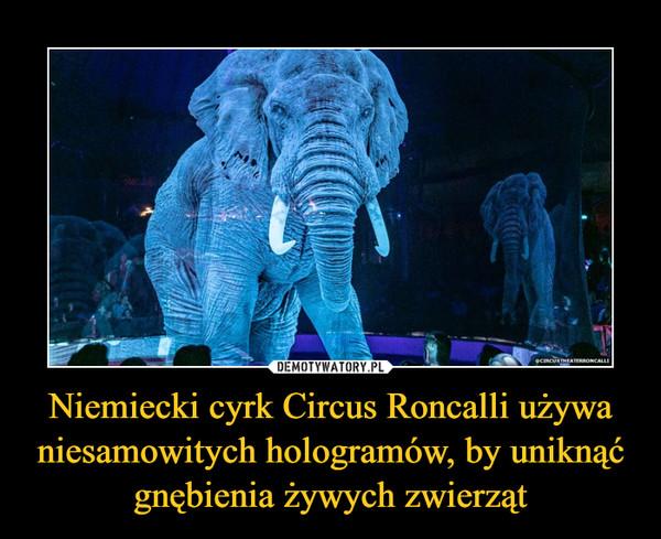 Niemiecki cyrk Circus Roncalli używa niesamowitych hologramów, by uniknąć gnębienia żywych zwierząt –