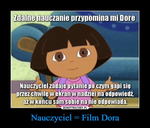 Nauczyciel = Film Dora –