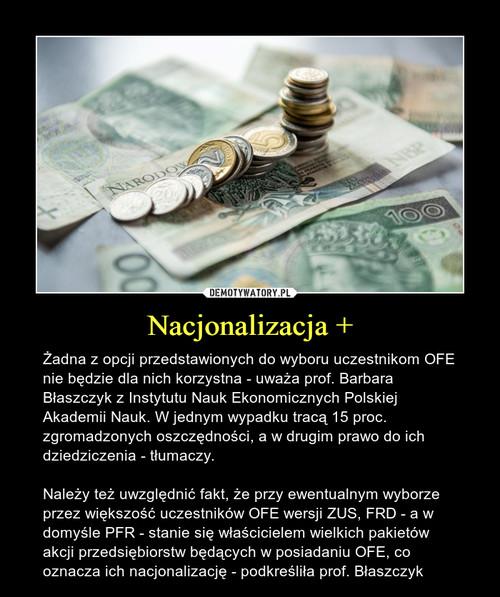 Nacjonalizacja +