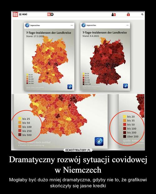 Dramatyczny rozwój sytuacji covidowej w Niemczech