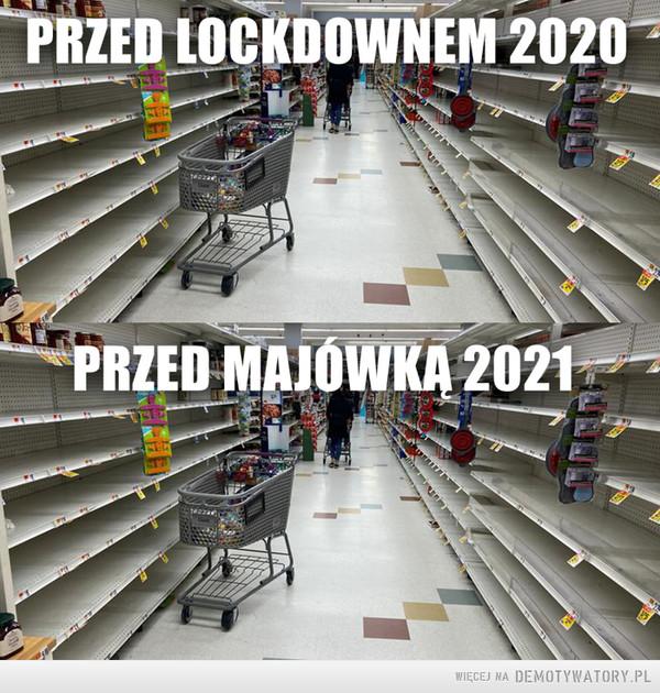 Wszystko po staremu –  PRZED LOCKDOWNEM 2020PRZED MAJÓWKA 2021