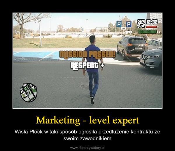 Marketing - level expert – Wisła Płock w taki sposób ogłosiła przedłużenie kontraktu ze swoim zawodnikiem