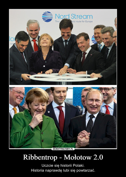 Ribbentrop - Mołotow 2.0