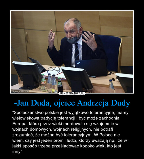 -Jan Duda, ojciec Andrzeja Dudy