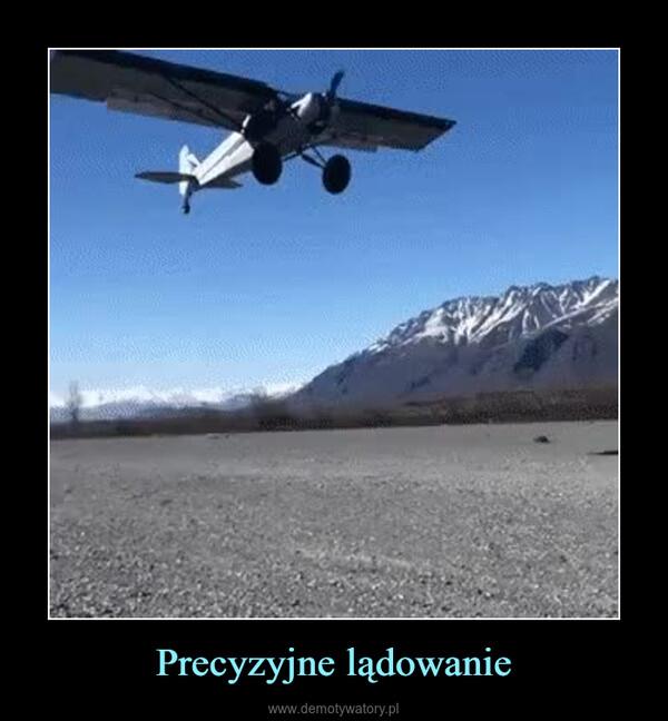 Precyzyjne lądowanie –