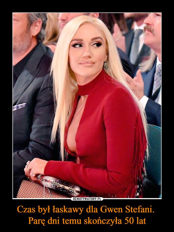 Czas był łaskawy dla Gwen Stefani. Parę dni temu skończyła 50 lat